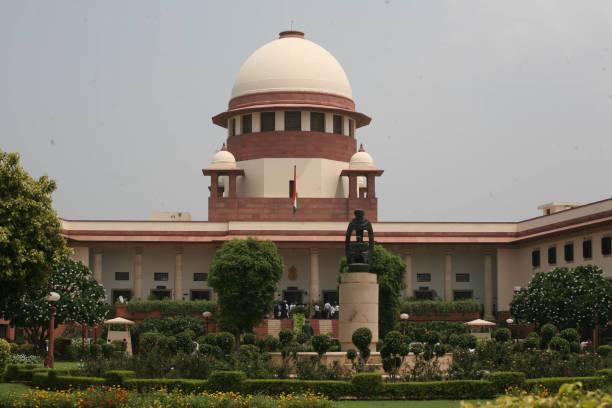 hindistan yüksek mahkemesi - anayasa mahkemesi stok fotoğraflar ve resimler