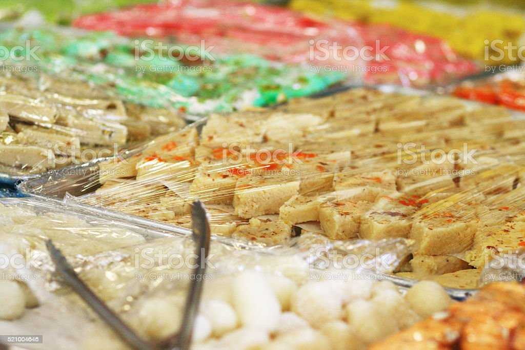 Indian Sweets stock photo