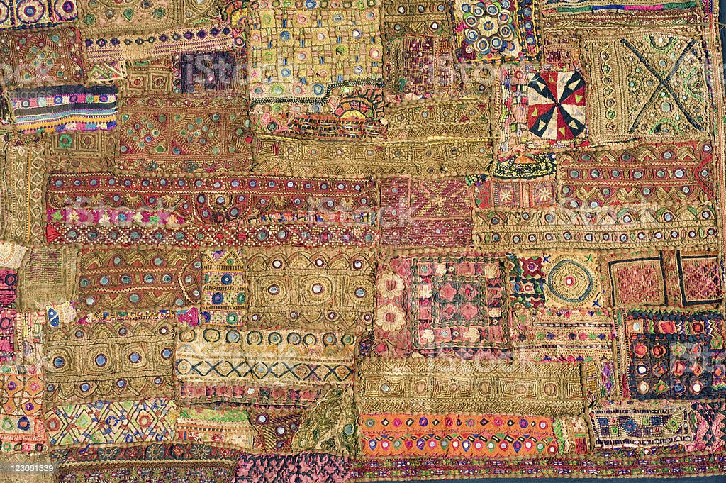 Indian Tapestry royalty-free stock photo