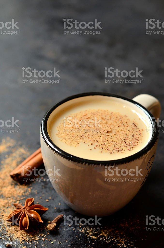 Indian tea masala. stock photo