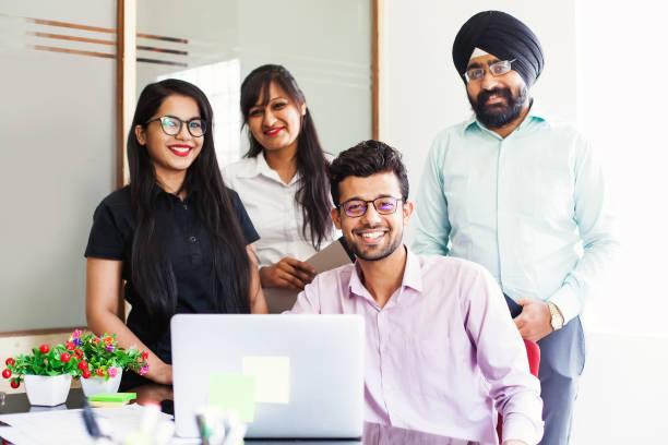 Indische team – Foto