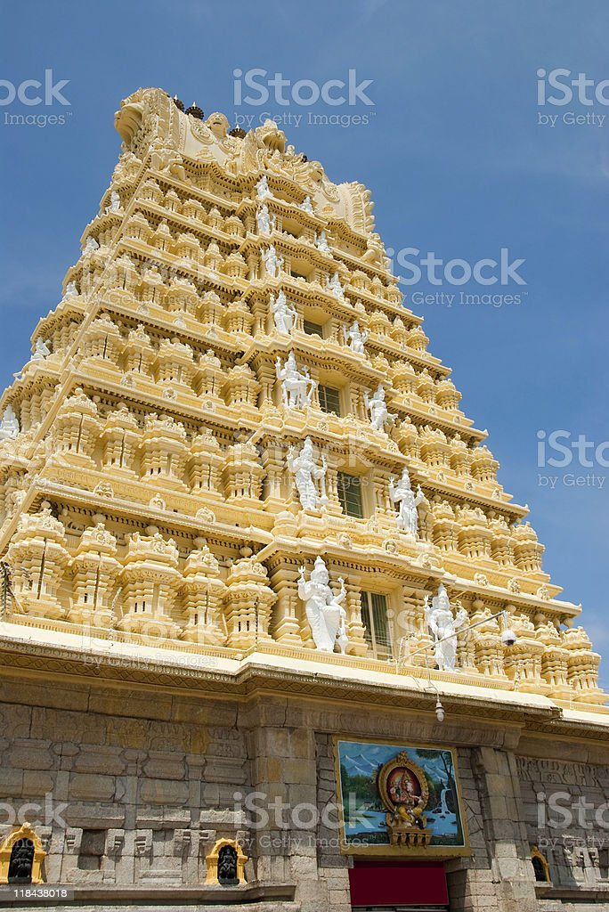 Indian Temple royalty-free stock photo