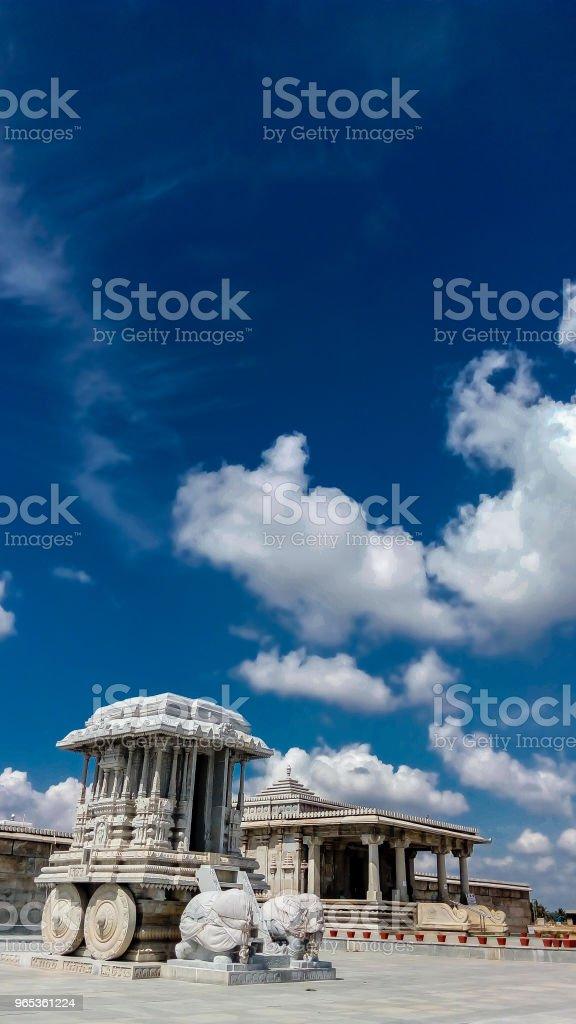 印度的寺廟 - 免版稅亞洲圖庫照片