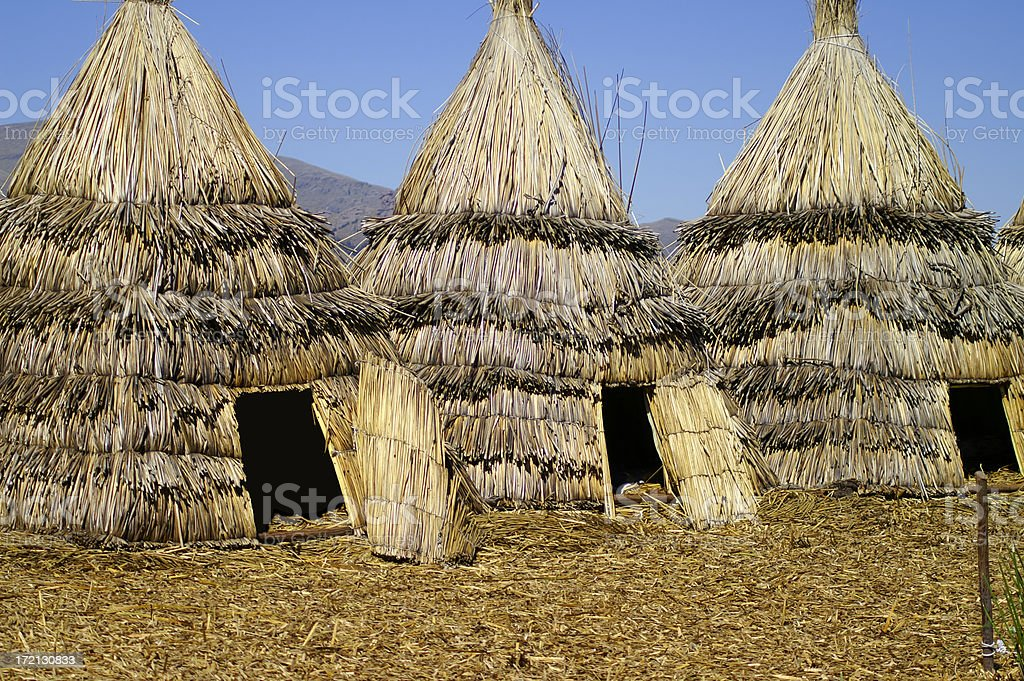Indian Tents stock photo