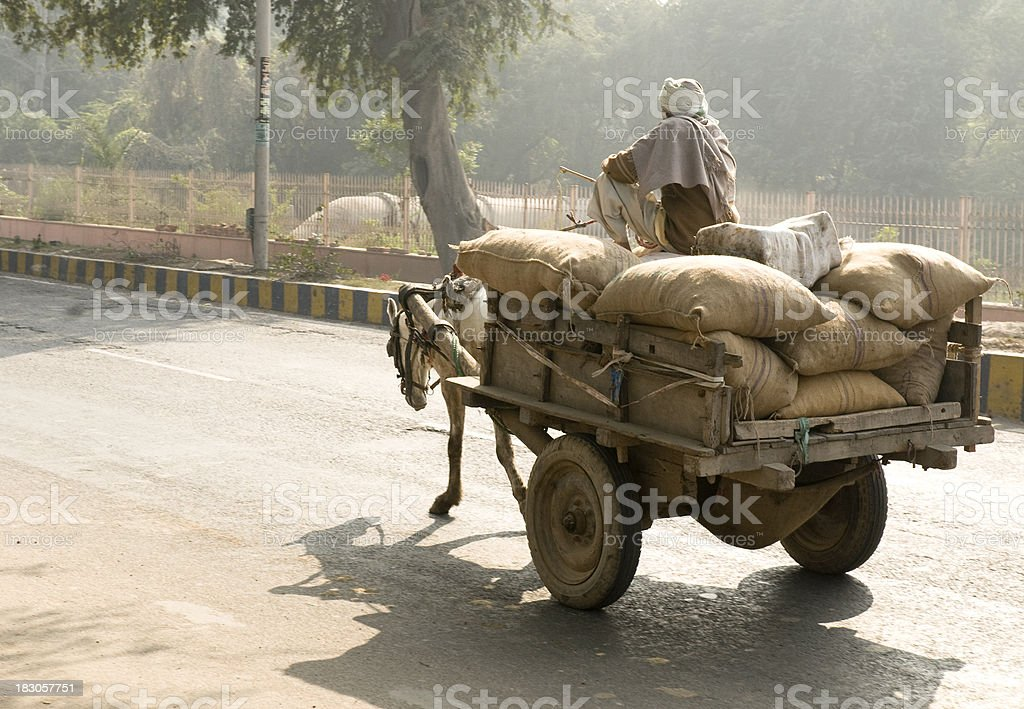 Indian Transportation stock photo