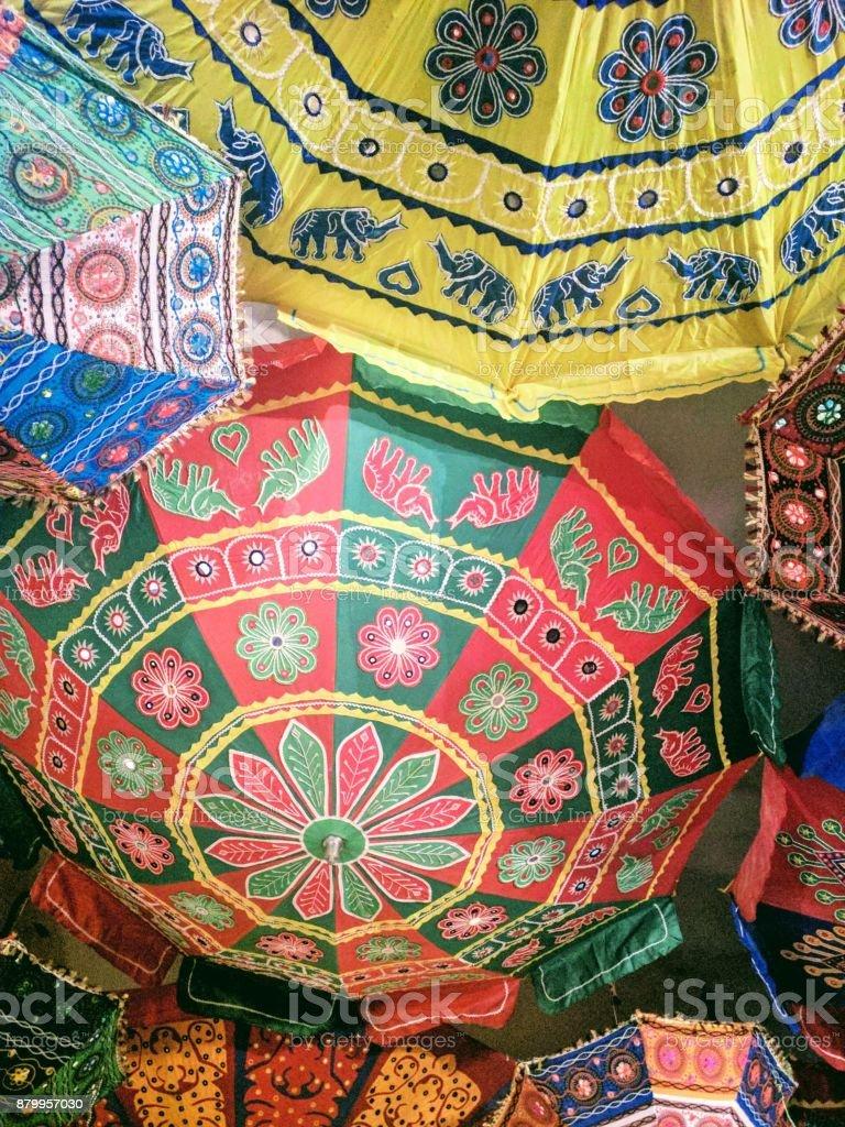 Indische Sonnenschirme Stockfoto Und Mehr Bilder Von Alt Istock