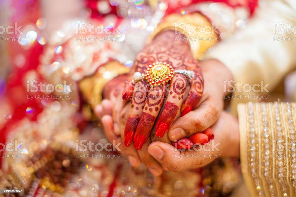 Indian Wedding Hands