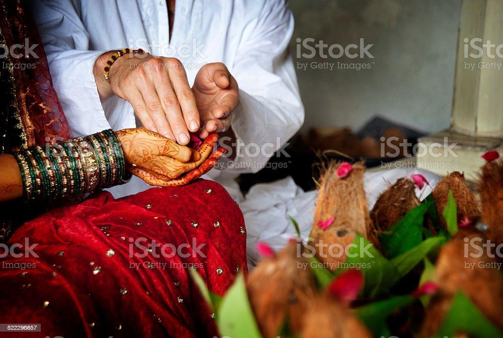 Indische Hochzeit – Foto