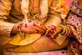 istock Indian Wedding Rings 1065321216