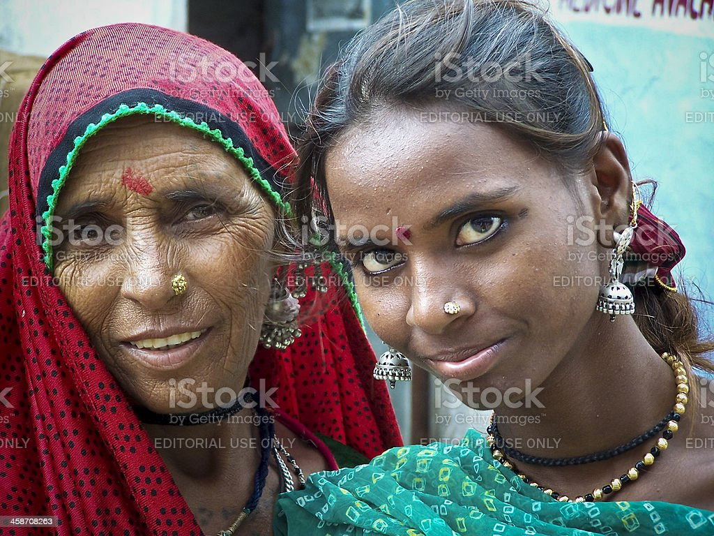 Indian Women Posing royalty-free stock photo