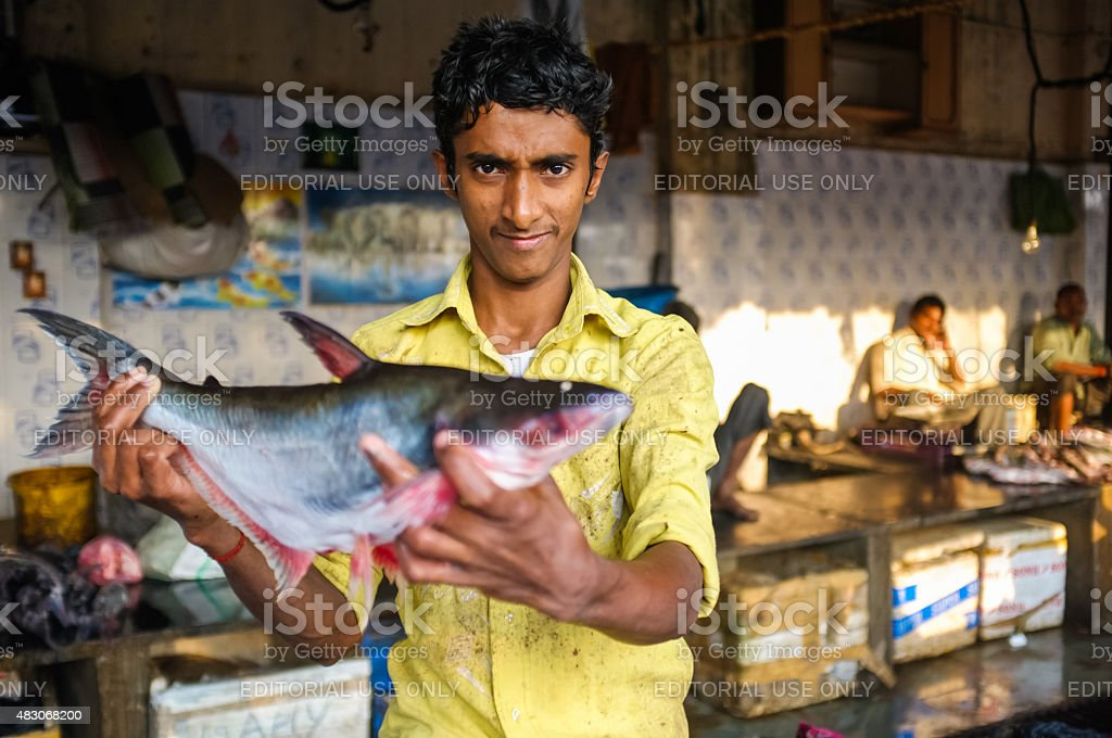 Indian worker stock photo