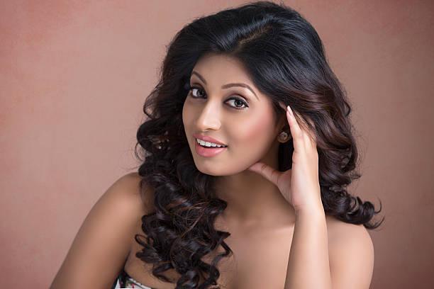 jeune jolie fille indienne - indien photos et images de collection