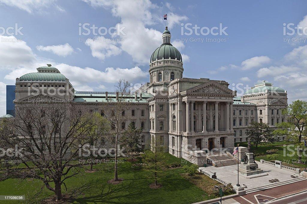 Indiana Capitol Building. stock photo