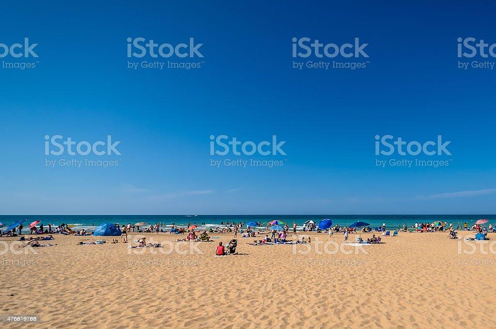 Indiana Dunes stock photo