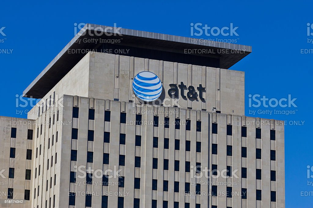 Indianapolis - March 2016: AT&T Indiana Headquarters VI stock photo