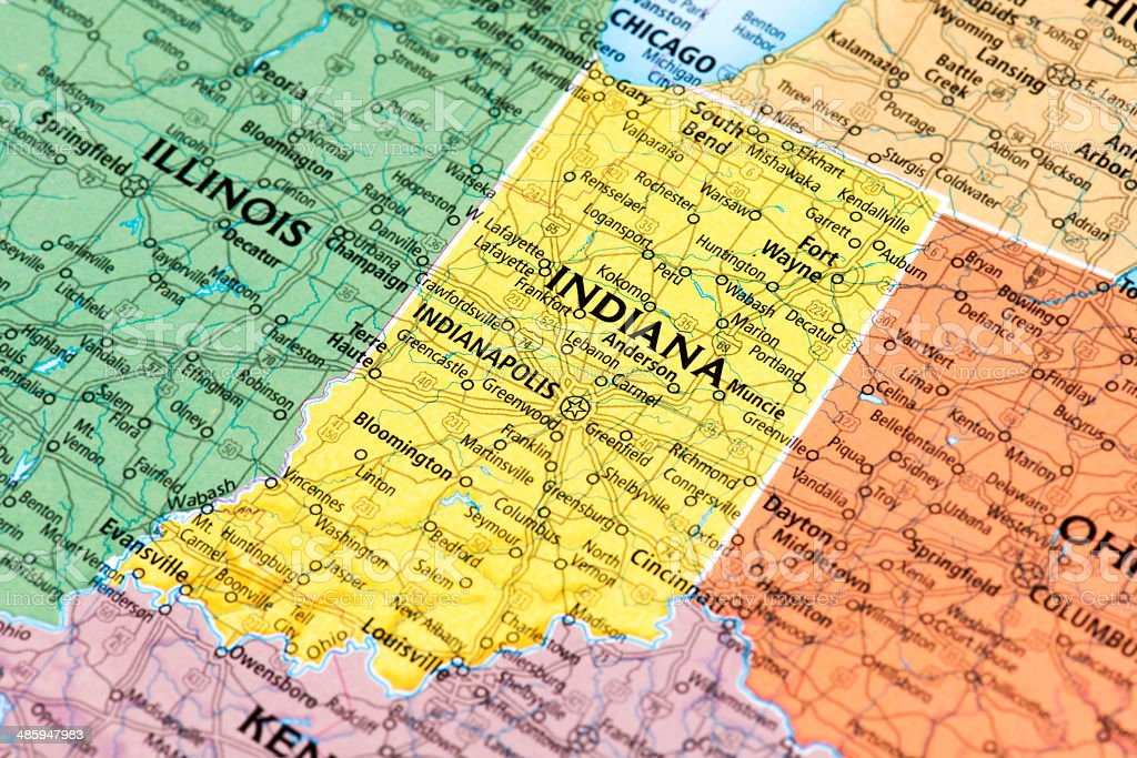 Indiana - foto de stock
