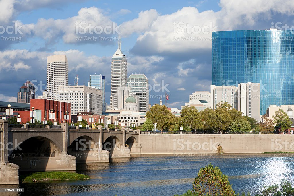 Indianapolis Indiana stock photo