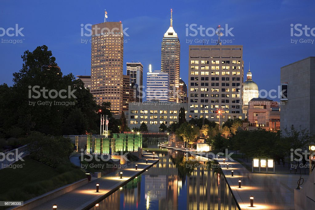 Indianapolis, Indiana stock photo