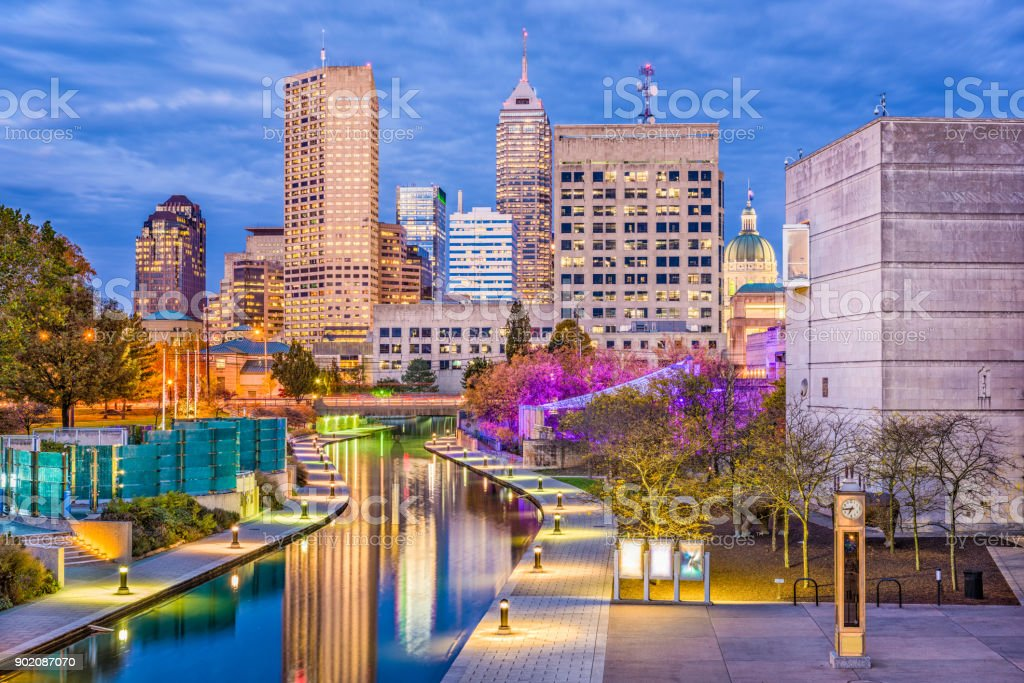 Indianapolis, Indiana, USA stock photo