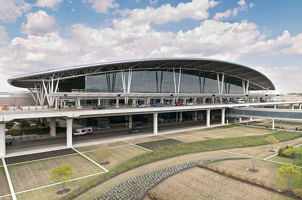 Indianapolis International Airport Main Terminal stock photo