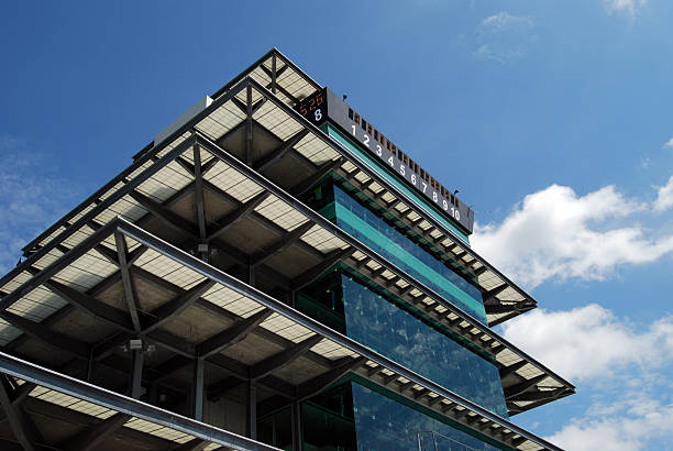 Indianapolis Motor Speedway Pagoda  pagoda stock pictures, royalty-free photos & images