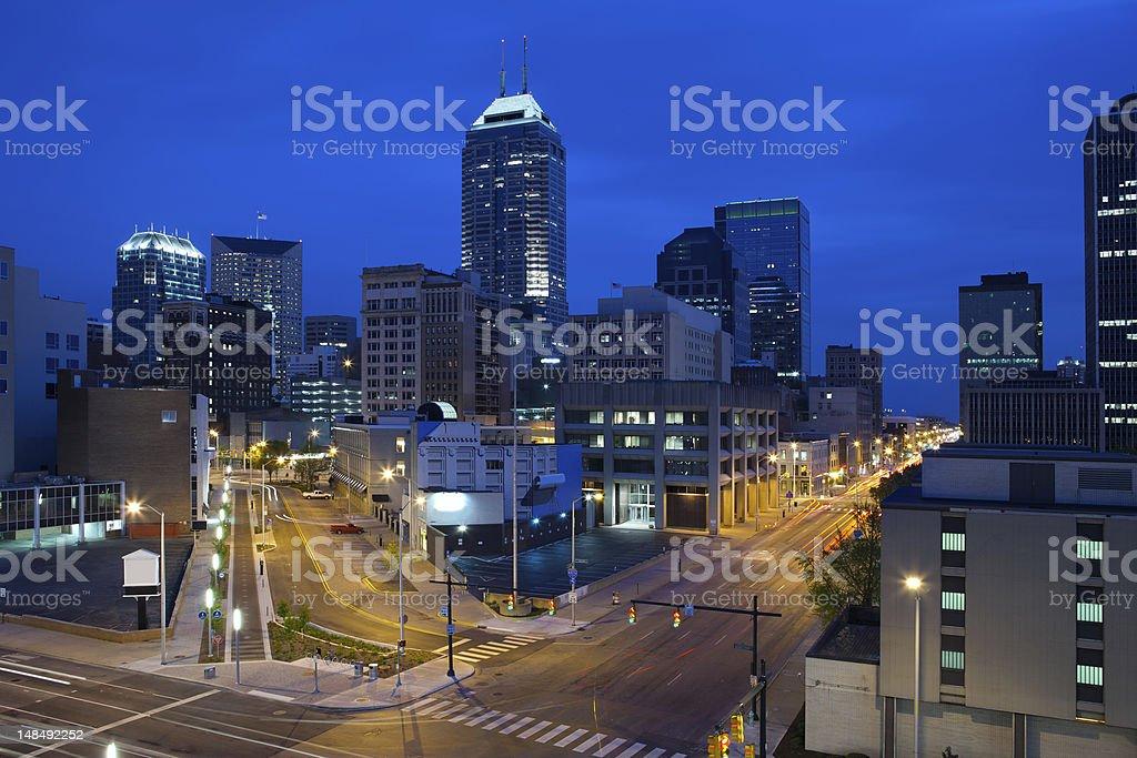 Indianapolis. stock photo