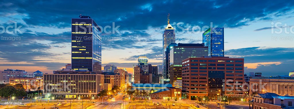 Indianapolis. stock photo