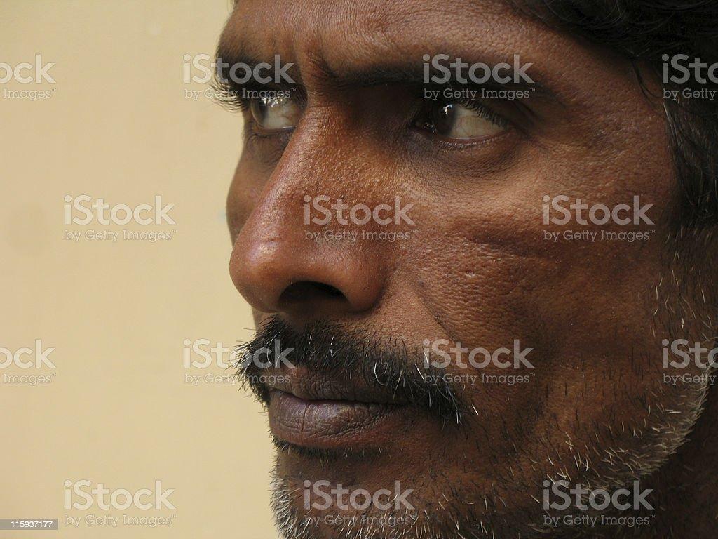 Indian's Closeup stock photo