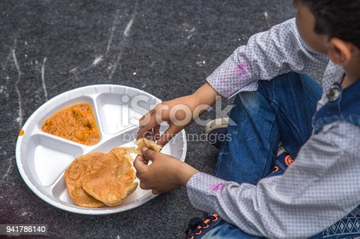 941788480 istock photo India's Mid-Day Meal Program 941786140