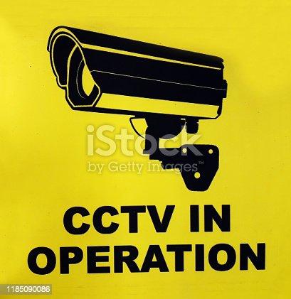 Indicates CCTV Camera In Operation