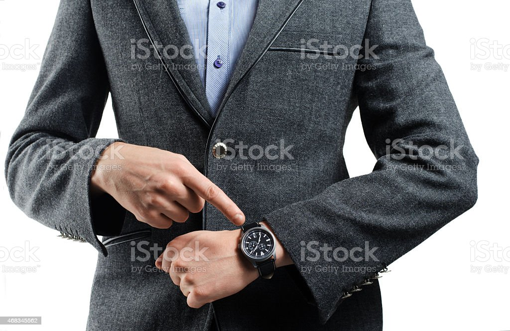 indicates the value of the time royalty-free stock photo