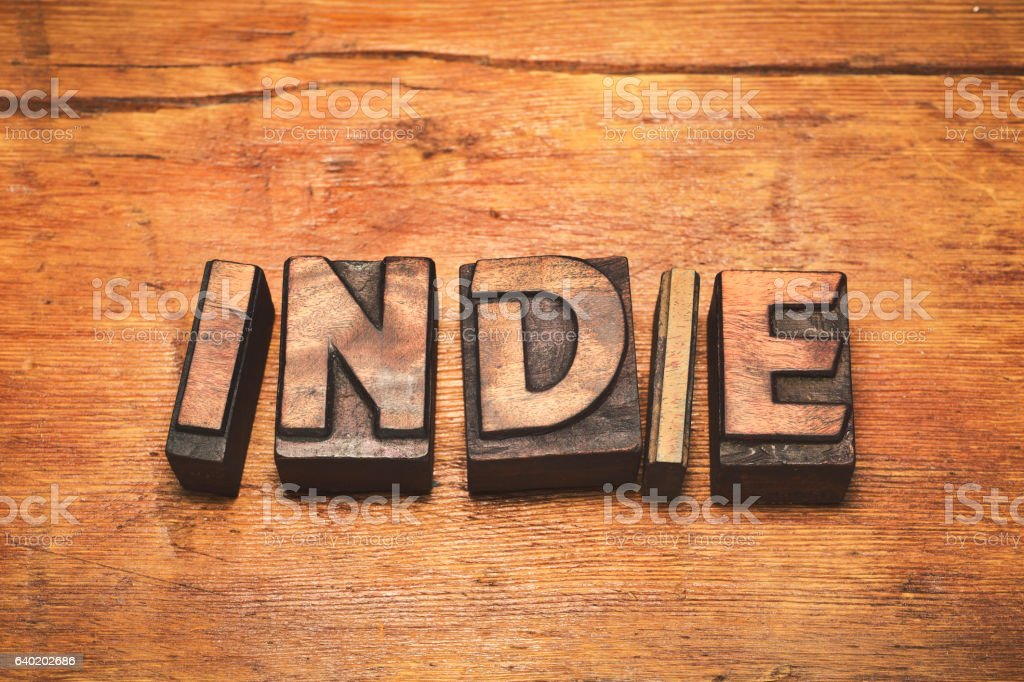 indie wood vintage stock photo