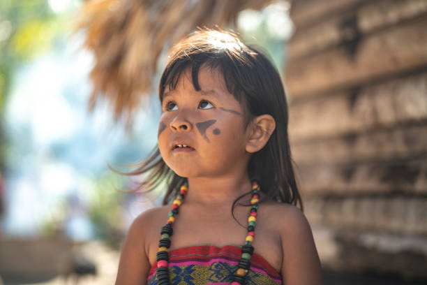 123 Tribal Face Paint Ideas Stock Photos Pictures Royalty Free Images Istock