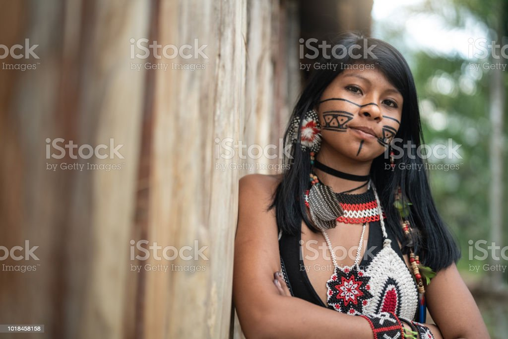 Beautiful shooting of how Brazilian Natives lives in Brazil