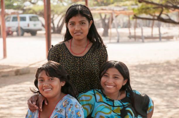 Indigenen Wayuu aus dem Guajira-Bereich. Kolumbien – Foto