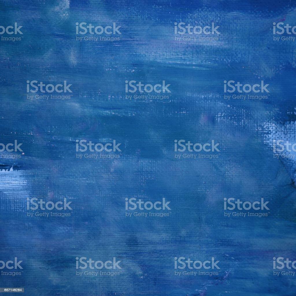 Indigo Blue Canvas Background stock photo