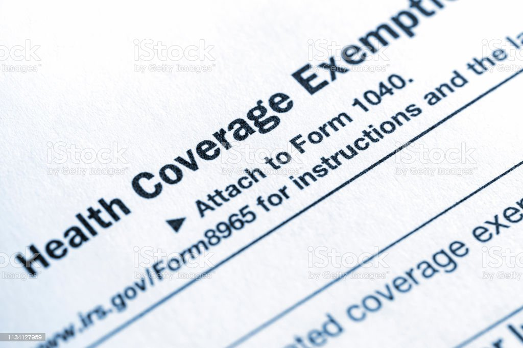 form 1040 health care coverage  Us Individual Income Tax Form 16 Health Insurance Coverage ...