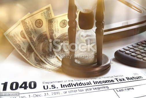 istock Individual Income Tax 513795624