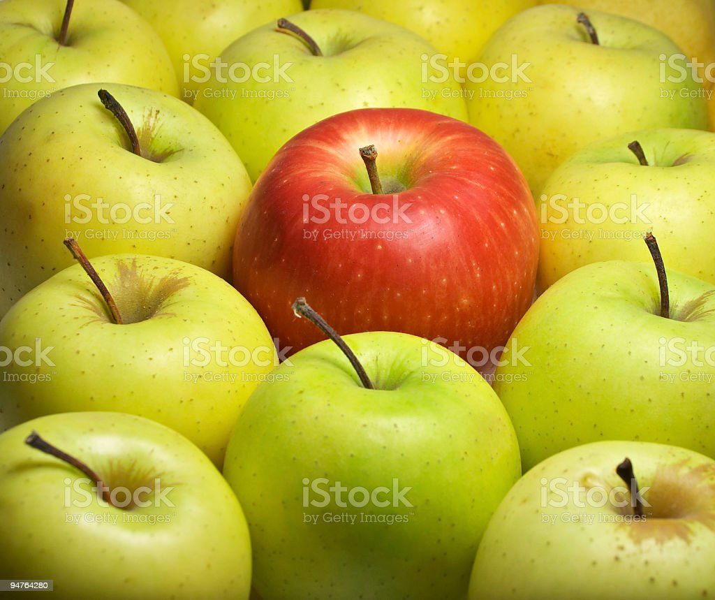 individual - one different stock photo