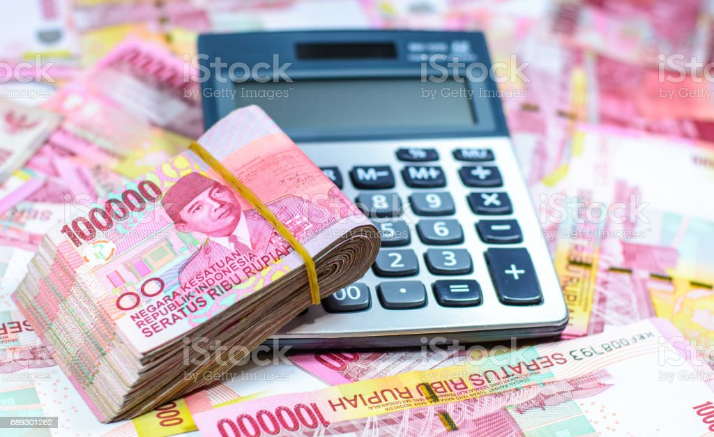 Indonesia Currency stock photo