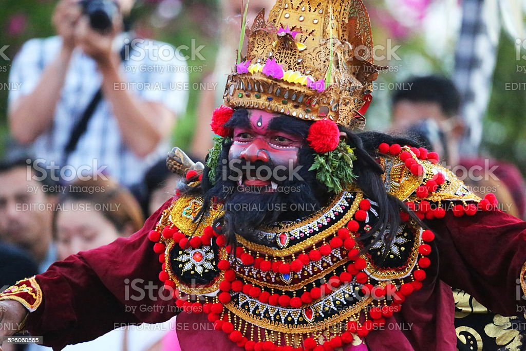 Indonesia: Kecak Ceremony in Bali stock photo