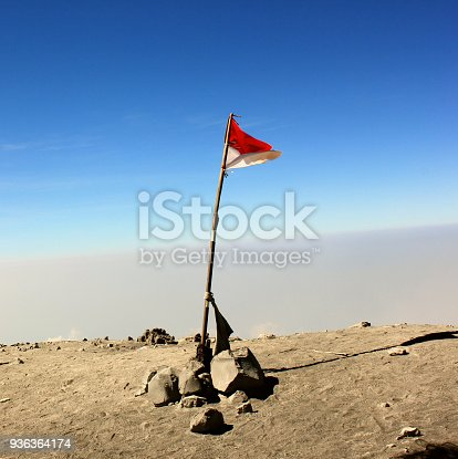 istock Indonesia National Flag 936364174