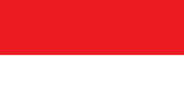 indonésia - bandeira da indonesia - fotografias e filmes do acervo