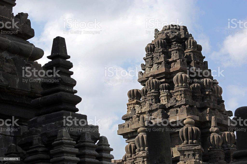 Indonesia: Prambanan at Yogyakarta stock photo