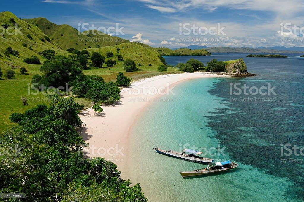 Indonesian beaches stock photo