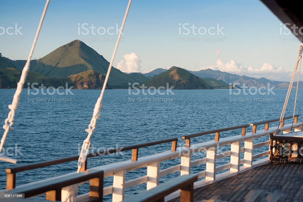 Indonesian Island stock photo
