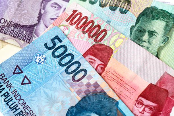Indonesian rupiah money background – Foto