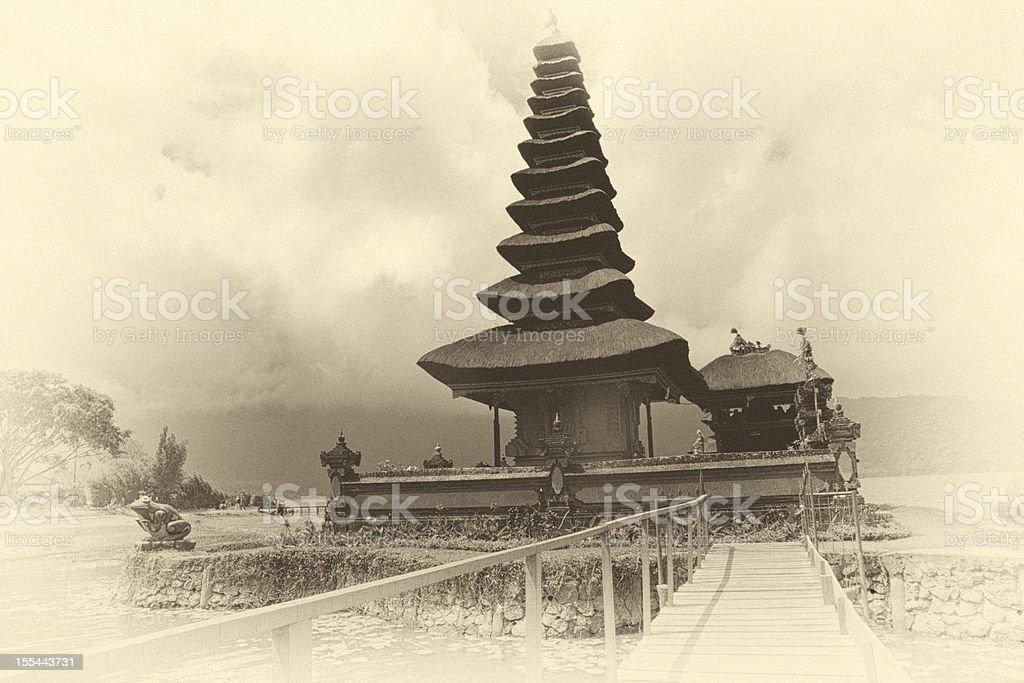 Indonesian Temple stock photo
