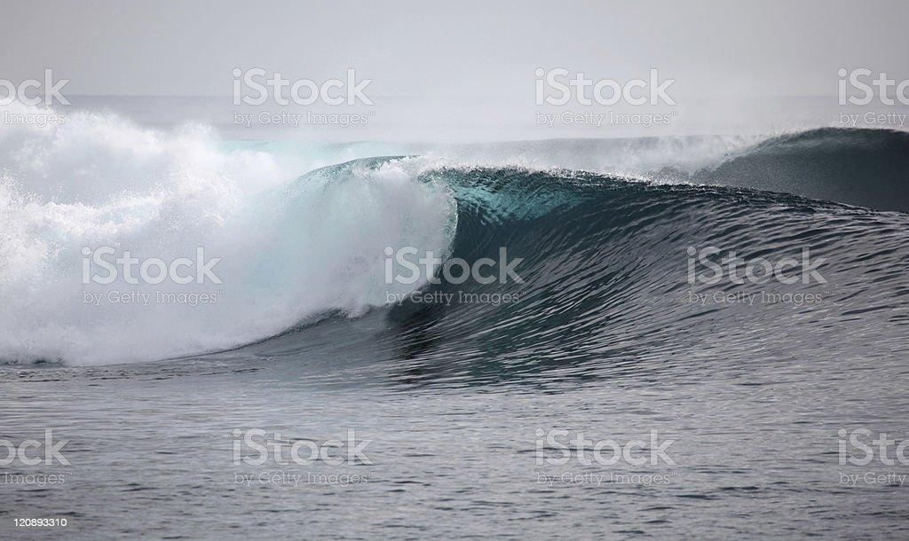Indonesian wave stock photo