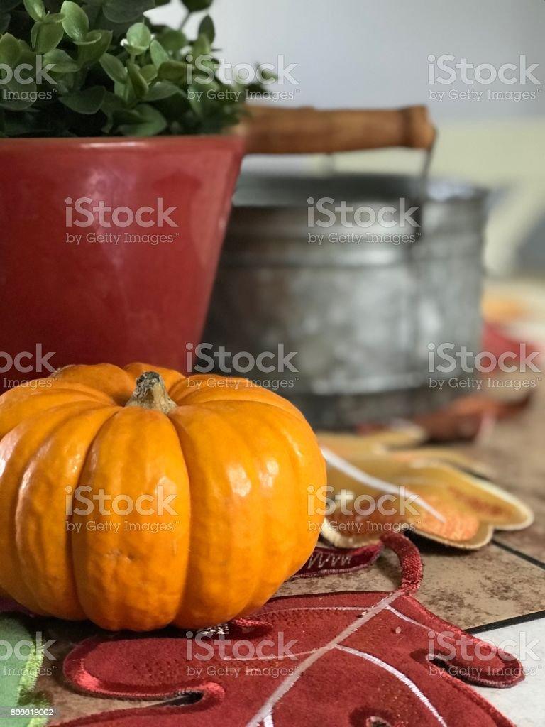 Indoor Autumn stock photo